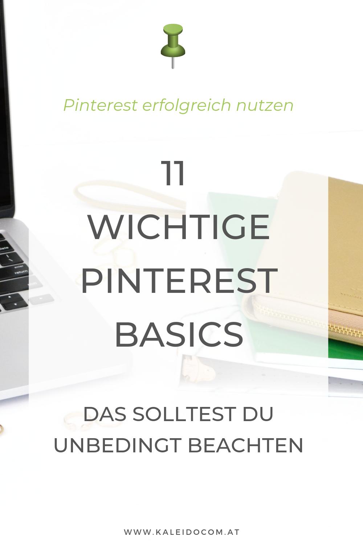 11 wichtige Pinterest Basics 2