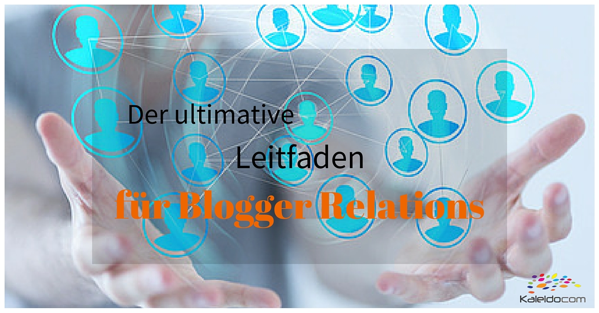 Leitfaden Blogger Relations