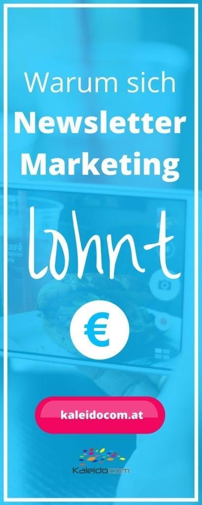 Das Geld liegt in der Liste! Newsletter Marketing gehört - richtig gemacht - zu den am besten funktionierenden Medien. Lesen Sie hier warum!