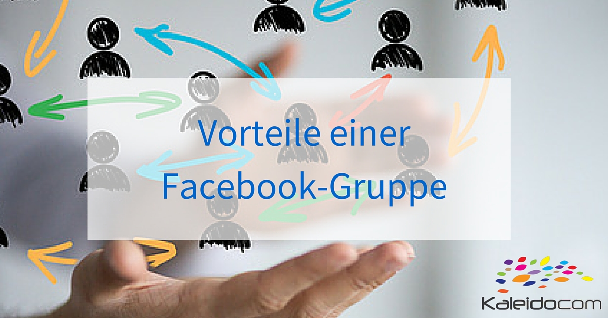 Vorteile Facebook-Gruppe