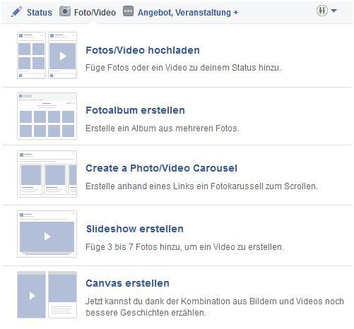Videos auf Facebook
