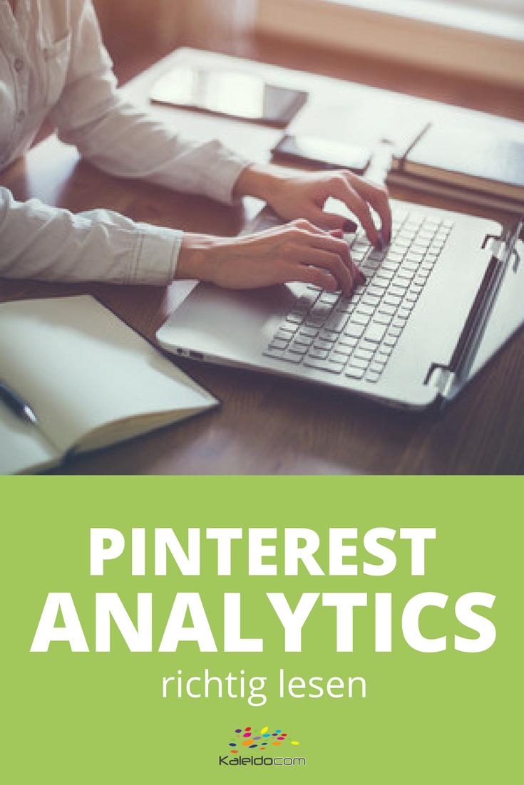 Welche Pins bringen Traffic? Pinterest Analytics: so liest Du die Zahlen richtig. #pinteresttipp #pinterestmarketing