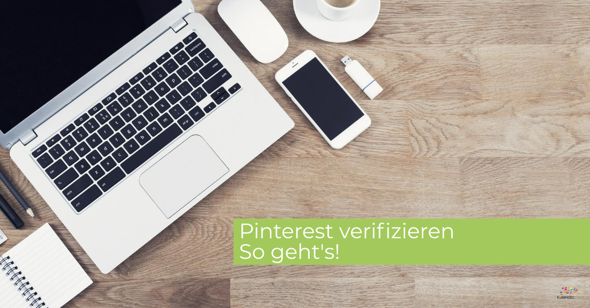 Pinterest verifizieren - so geht's 1