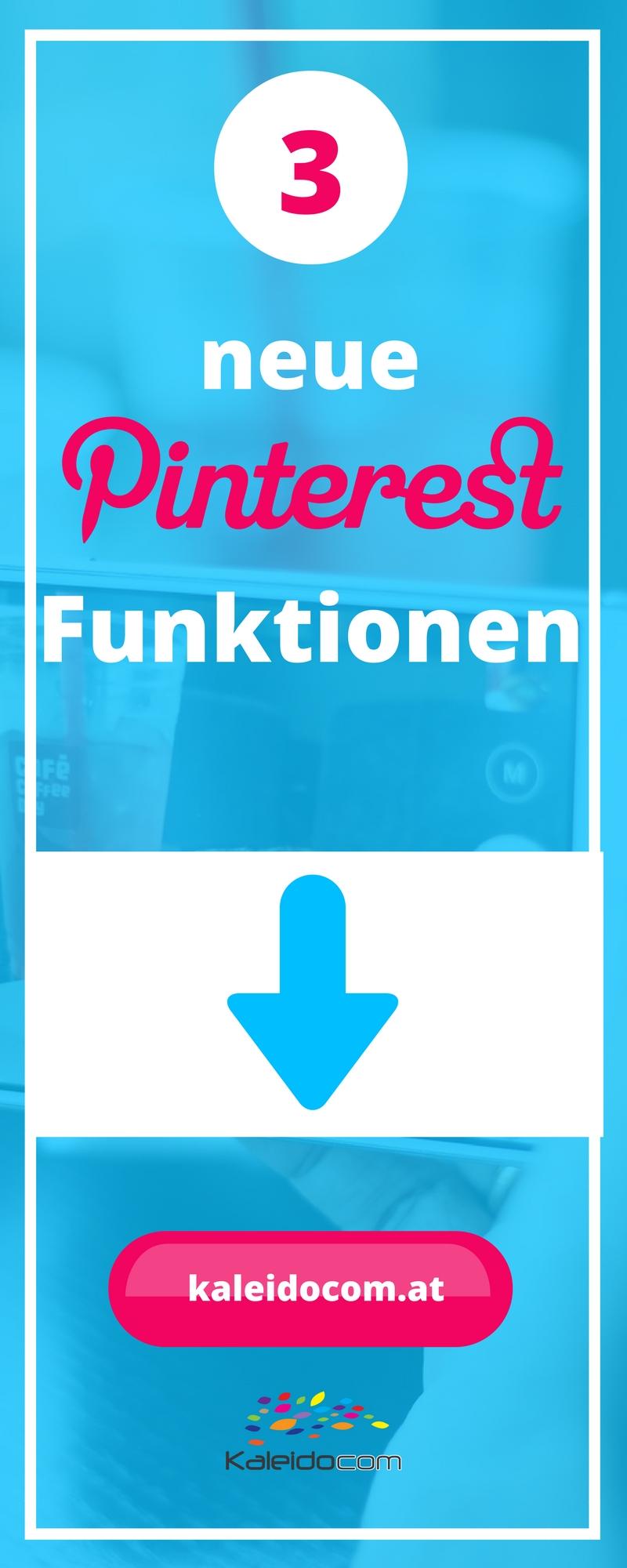 3 neue Pinterest Funktionen - Pinterest Lens, Instant Ideas und Shop the Look kurz vorgestellt und erklärt. Erfahre hier mehr darüber!