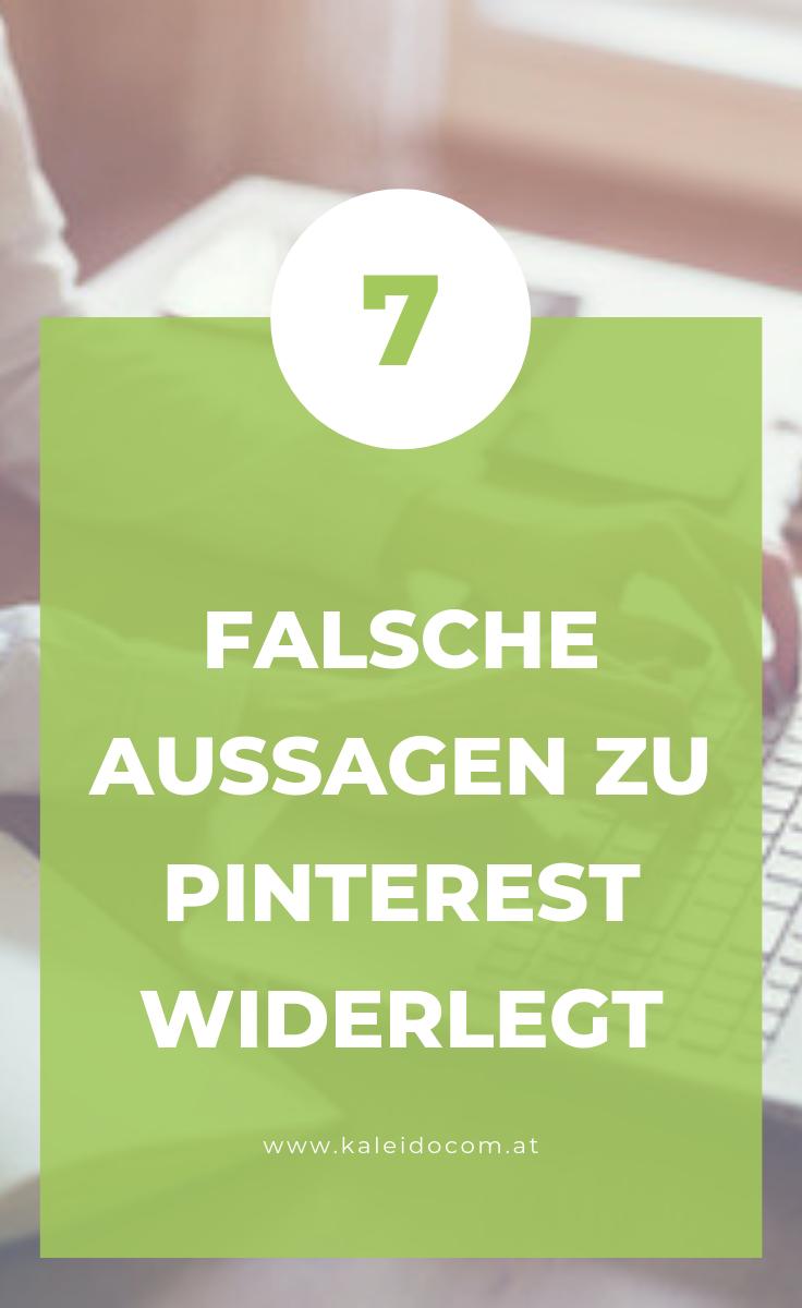 7 Falschaussagen über Pinterest 2