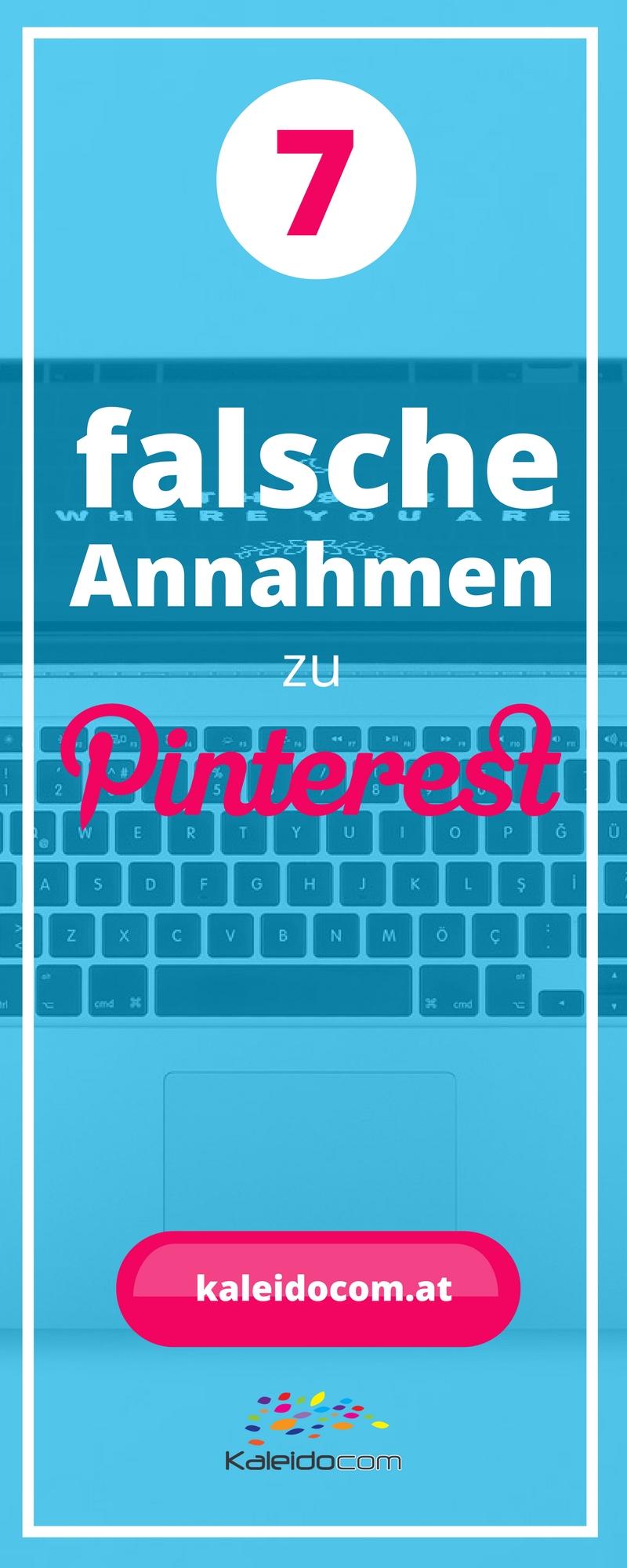 Pinterest wird immer wichtiger im Online-Marketing. Darum ist es nicht verwunderlich, dass auch einige Falschaussagen über Pinterest kursieren. Wir wollen heute die gängigsten widerlegen.