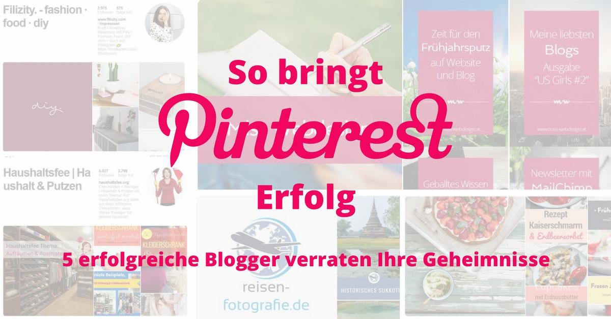 So bringt Pinterest Erfolg
