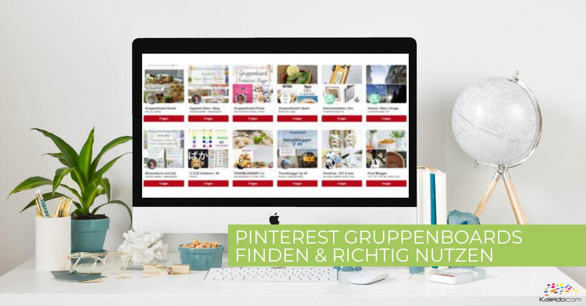 Pinterest Gruppenboards finden und richtig nutzen 1