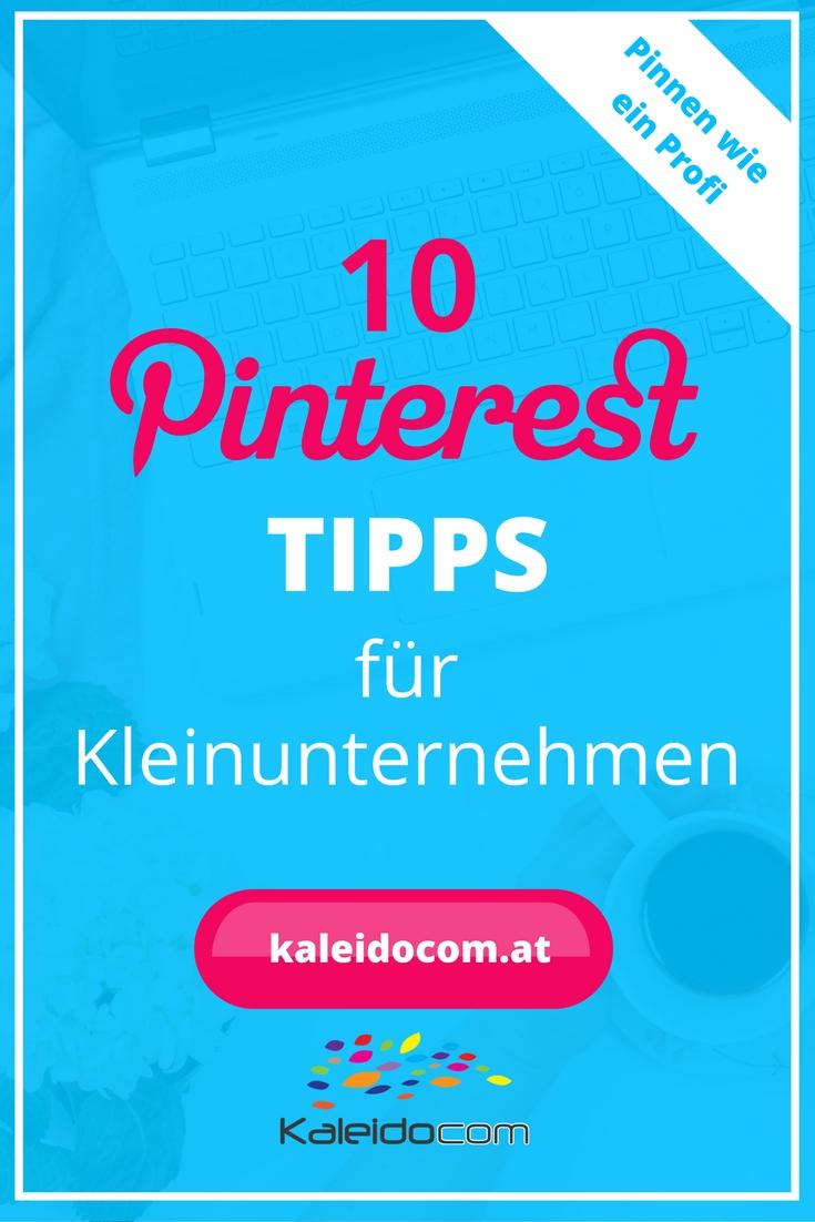 Pinterest Tipps für Kleinunternehmen 1