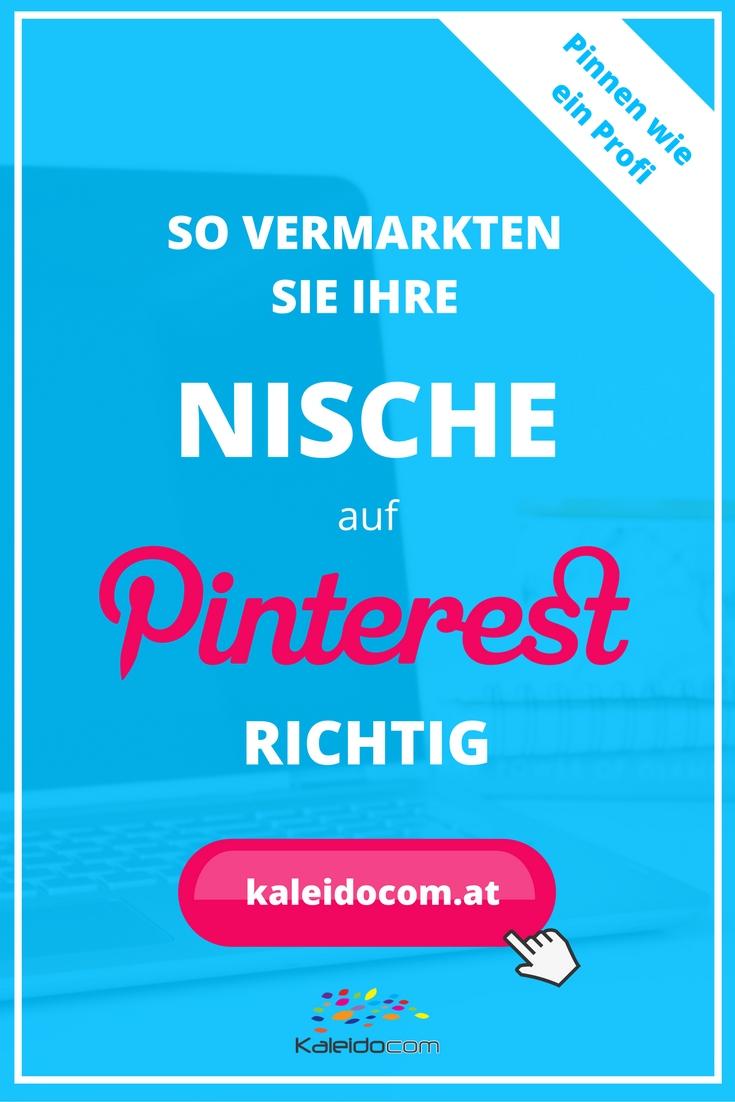 Auf Pinterest können Sie nicht nur mit den klassischen Themen Kochen, Backen, Reise und DIY Erfolg haben. Wir zeigen, wie Sie Ihr Nischenthema erfolgreich mit Pinterest vermarkten können.