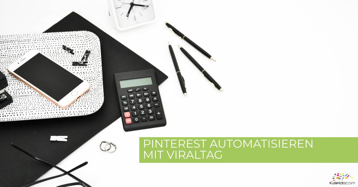 Viraltag - Das fast perfekte Planungstool für Pinterest 1