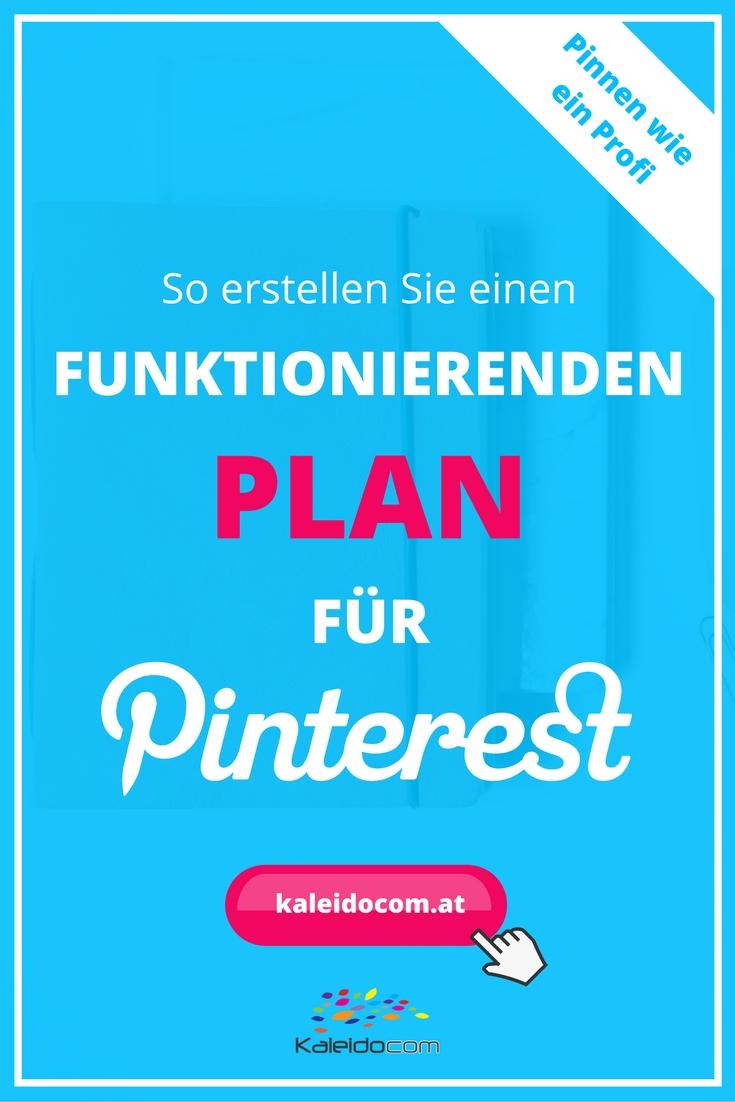 Pinterest für Unternehmen und Selbstständige: So erstellen Sie einen schnellen Plan für Pinterest