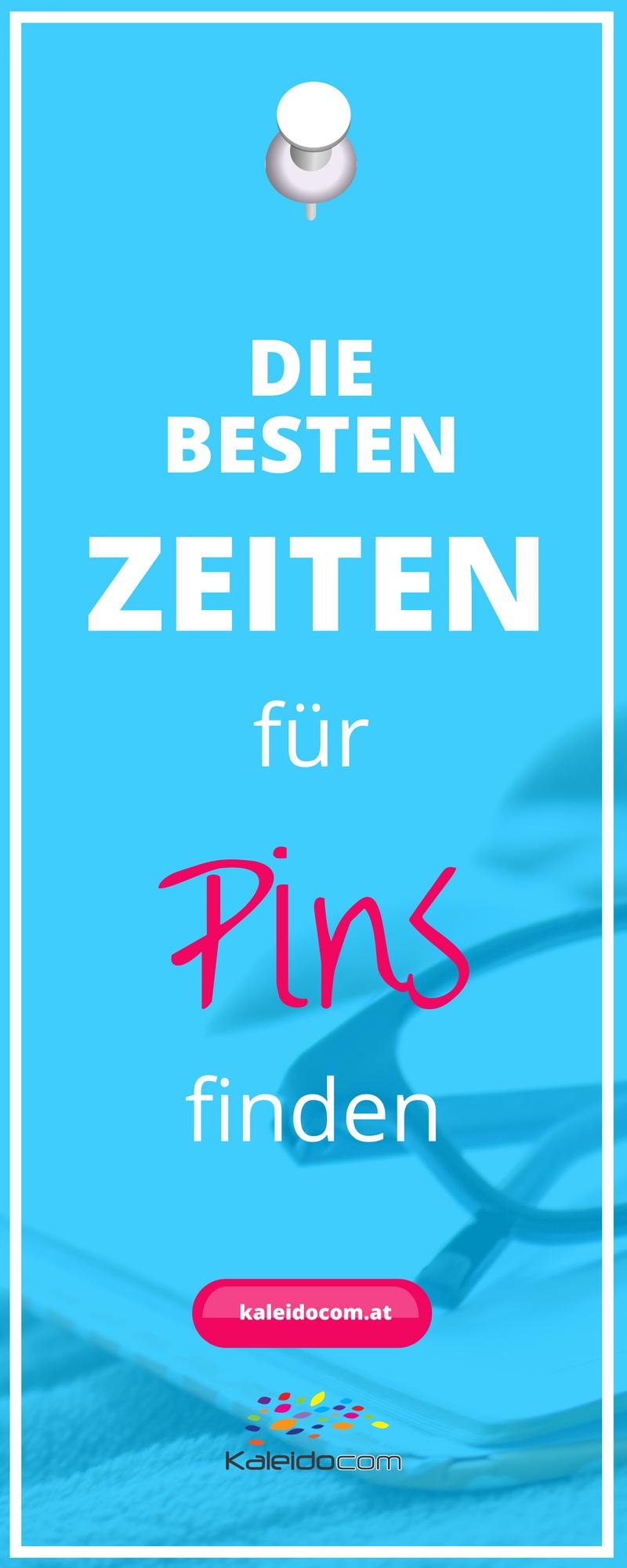 Gibt es die besten Zeiten für Pins auf Pinterest? Erfahre hier, welche Uhrzeit für Pins gut geeignet ist.