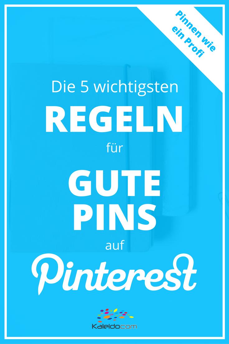 So gestaltest Du gute Pins für Pinterest, die massenhaft Repins und Klicks bringen. #pinterestmarketing #pinteresttipp