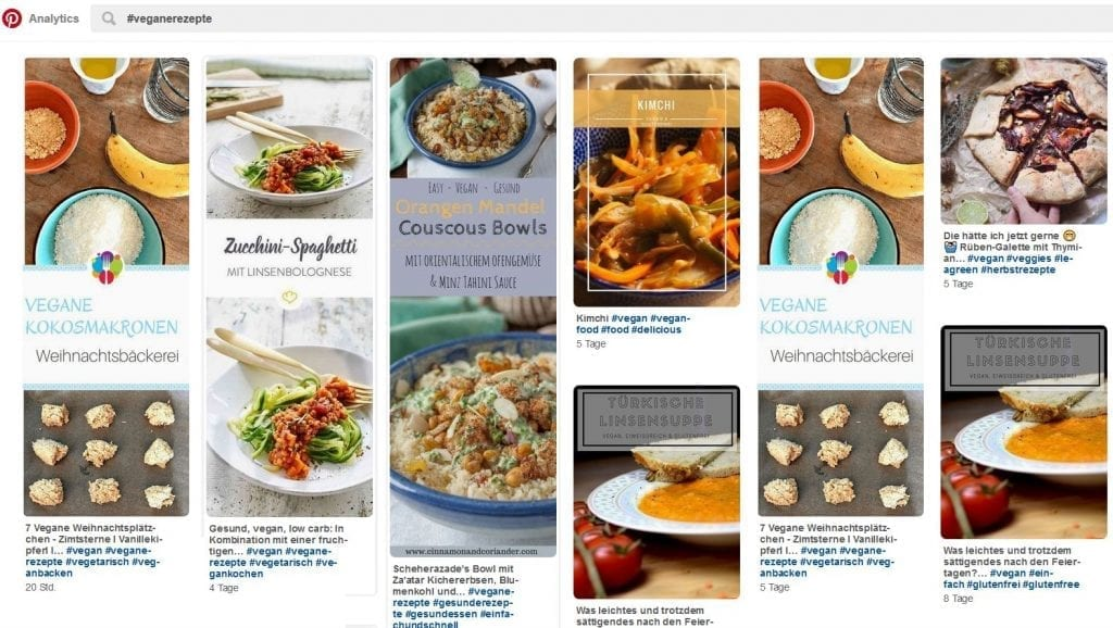 Suchergebnis auf Pinterest mit #veganerezepte