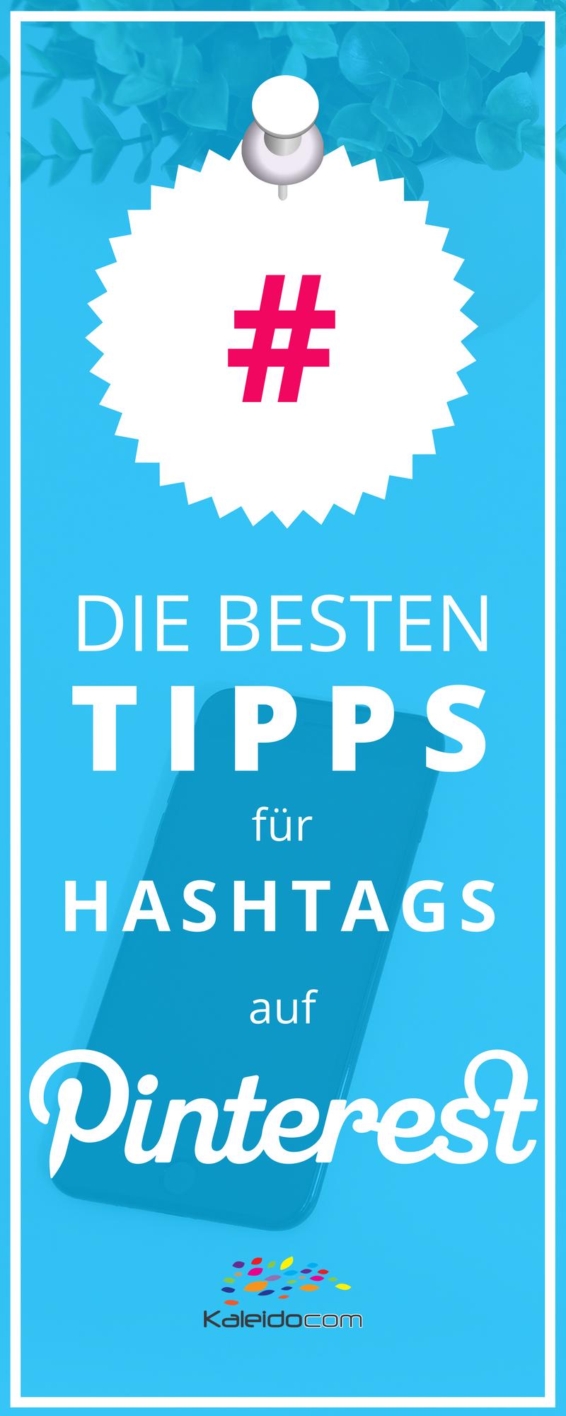 In der zweiten Jahreshälfte 2017 wurden auf Pinterest klickbare Hashtags eingeführt. Die besten Tipps für Hashtags auf Pinterest hier lesen. #pinteresttipp #pinterestmarketing