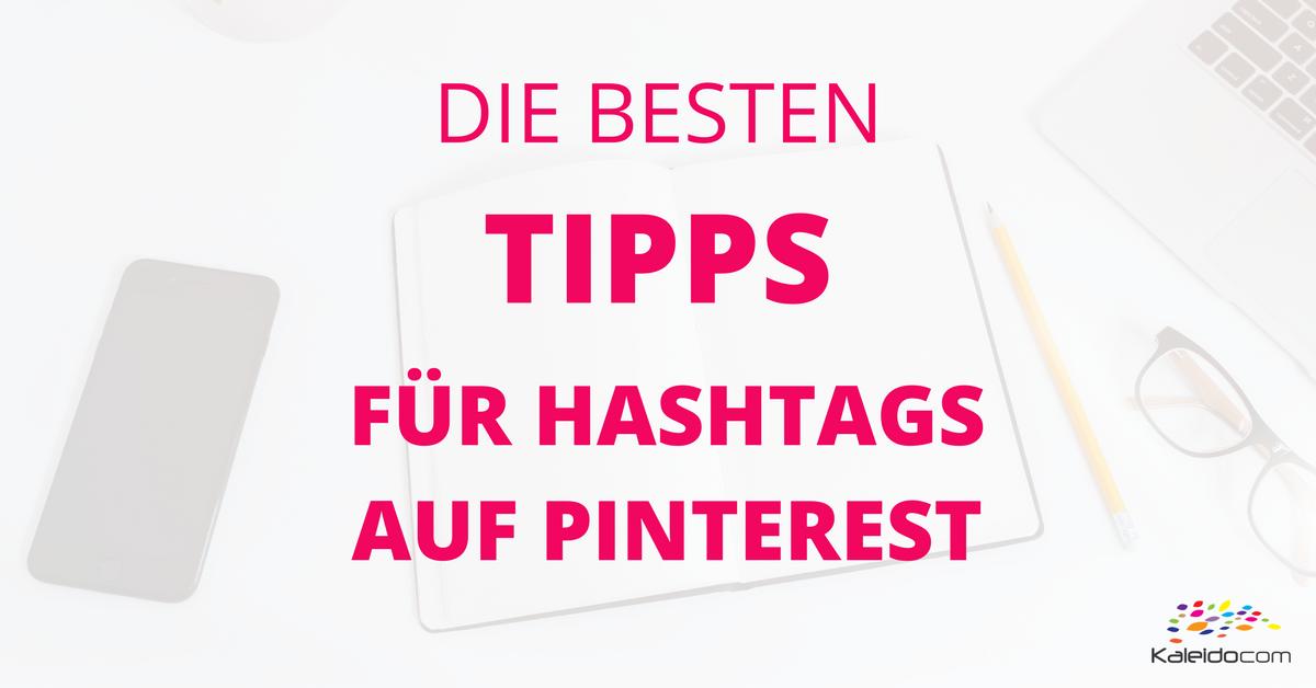 Tipps für Pinterest Hashtags