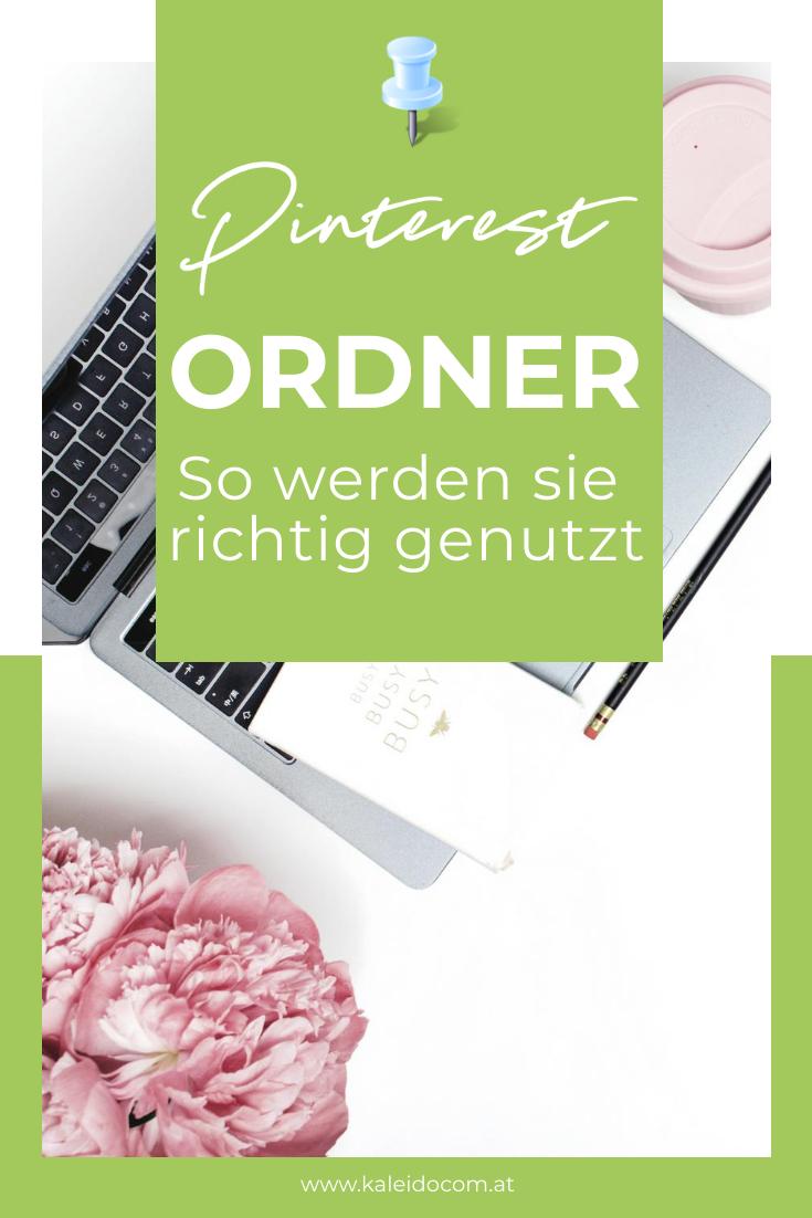 Pinterest Funktion: Ordner - so werden sie genutzt 2