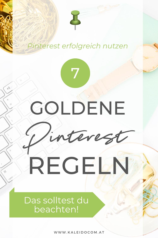 7 Pinterest Regeln für Blogger & smarte Entrepreneure 2