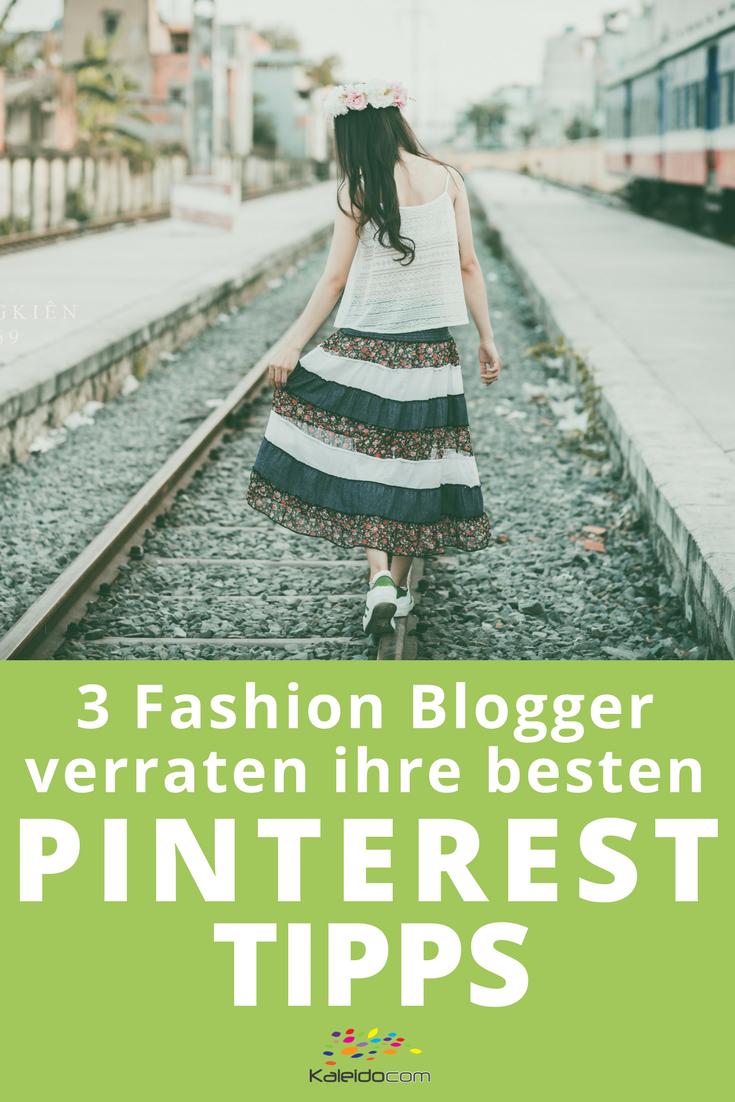 Für Fashion Blogger ist Pinterest perfekt geeignet. 3 Fashionblogger verraten hier ihre besten Pinterest Tipps! #pinterestmarketing #pinteresttipp