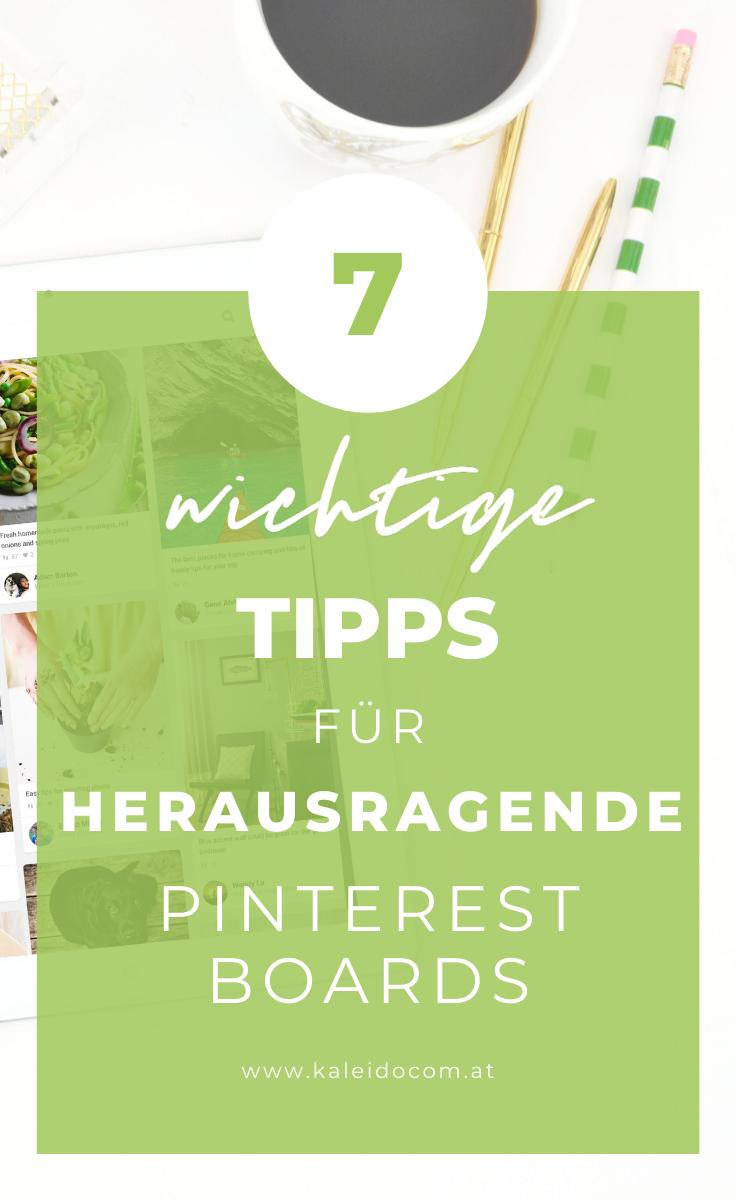 7 Tipps für Pinterest Boards, die Follower erhalten 2
