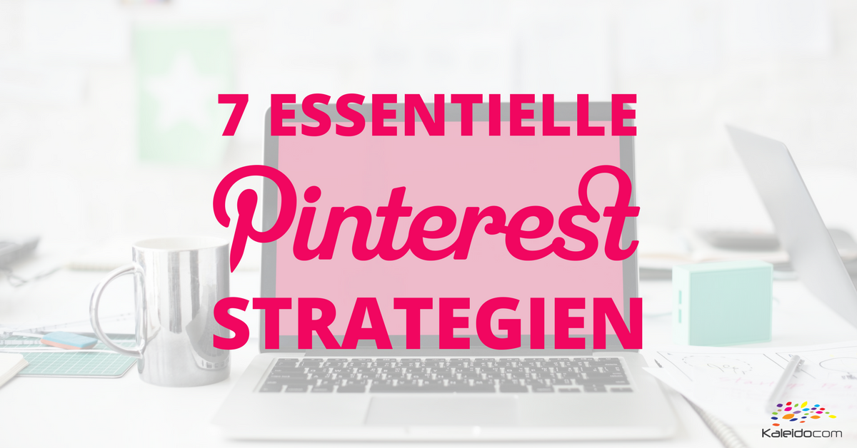 Pinterest Strategien