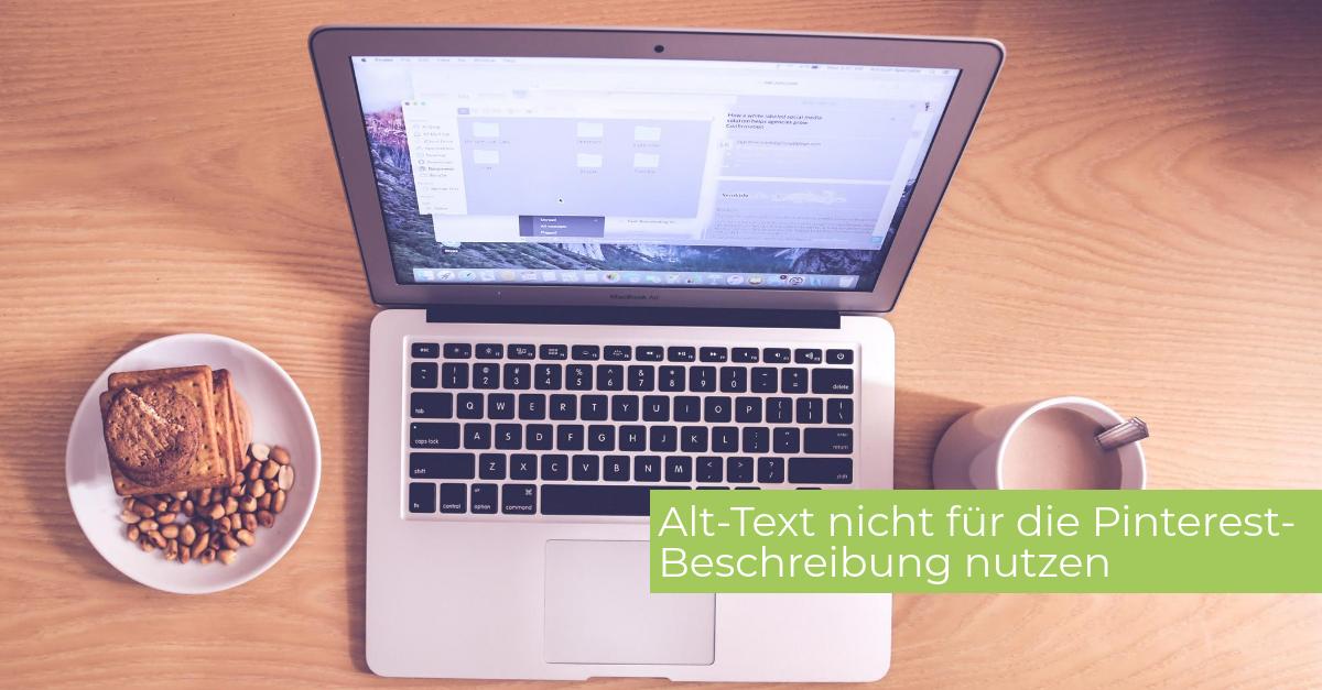 Pinterest-Beschreibung - Alt-Text