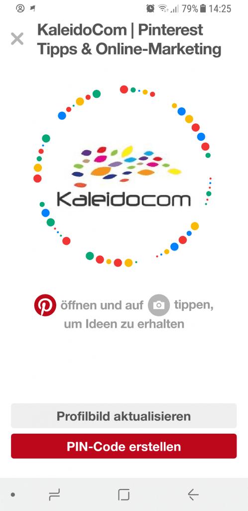 Pincode Profil Kaleidocom