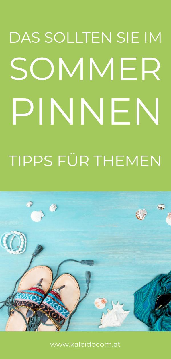 Pin Sommer Bild mit Flipflops