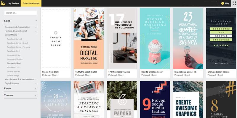 5 geniale Tools für großartige Pinterest-Grafiken 4