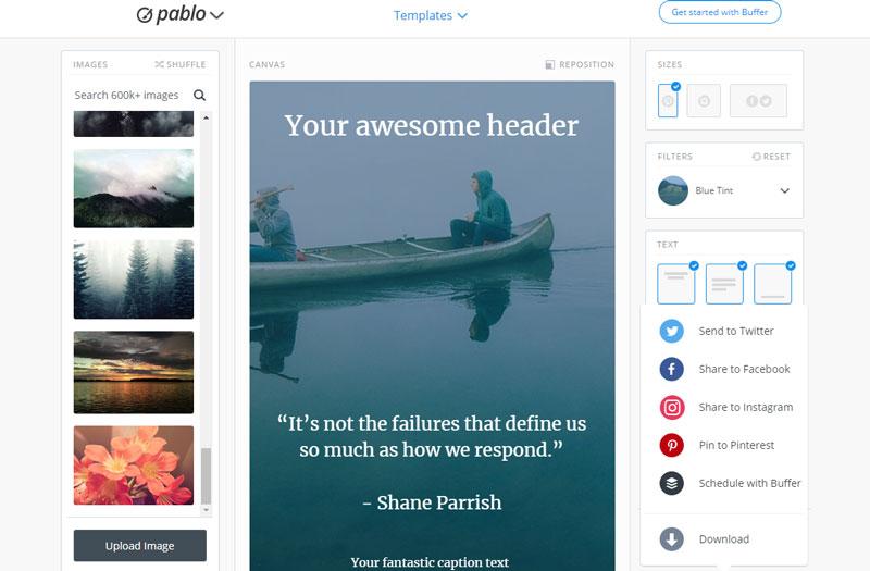 5 geniale Tools für großartige Pinterest-Grafiken 5