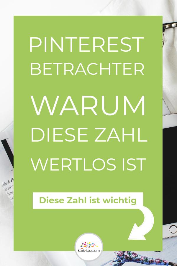 Pinterest Betrachter wertlos - Pingrafik
