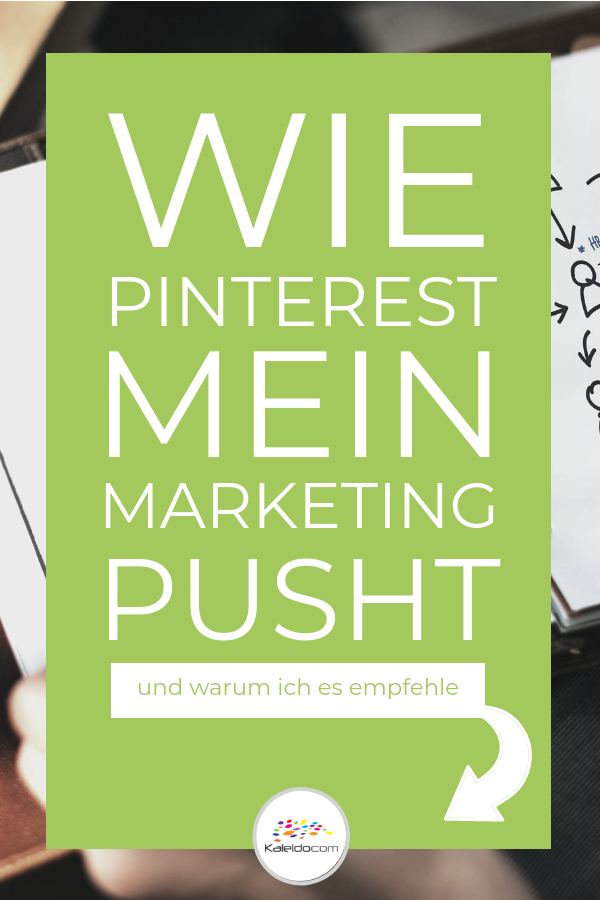 Pin wie Pinterest Marketing pusht
