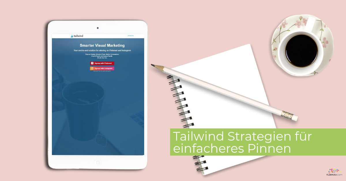 4 Tailwind Strategien