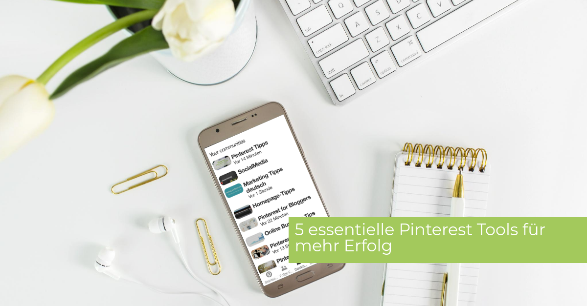 5 essentielle Pinterest Tools