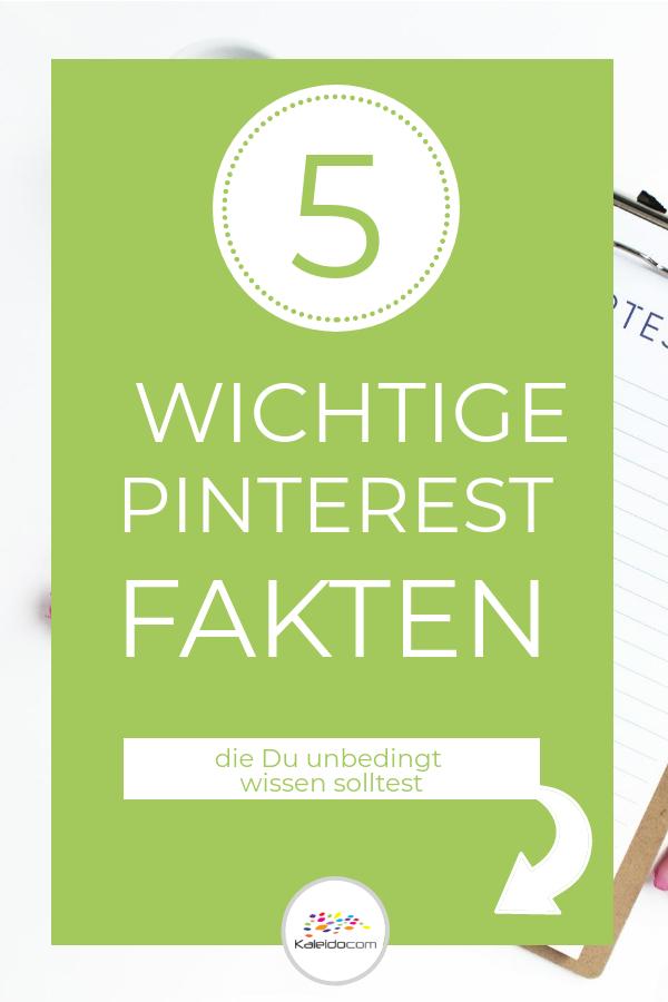 Pin 5 Pinterest Fakten