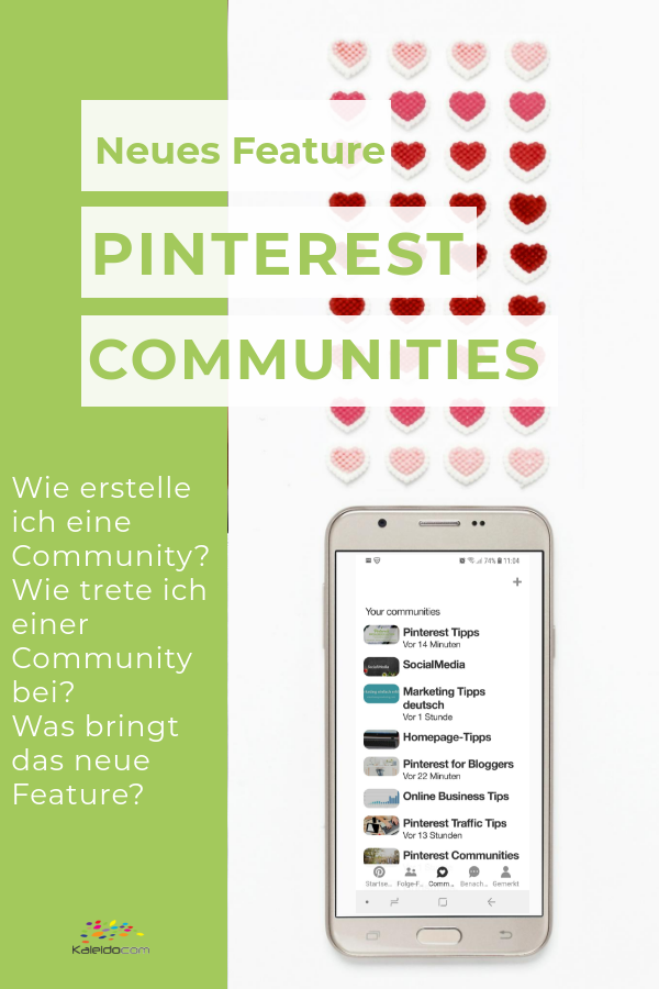 Pin Pinterest Communities
