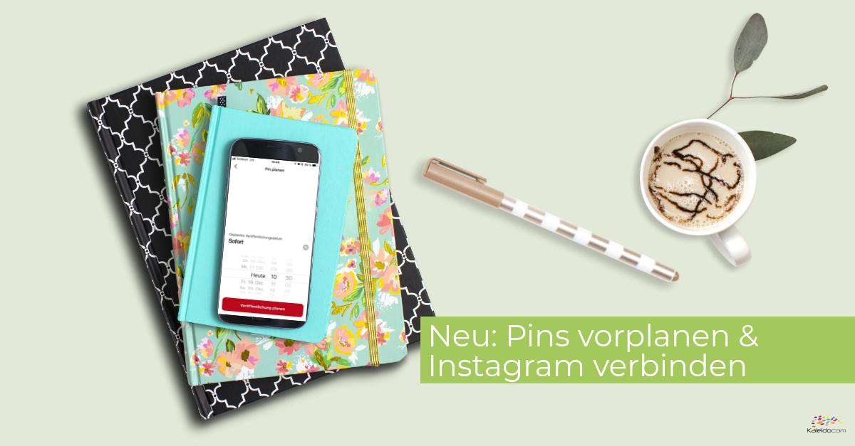 Pins in Pinterest planen & weitere Konten verbinden 1