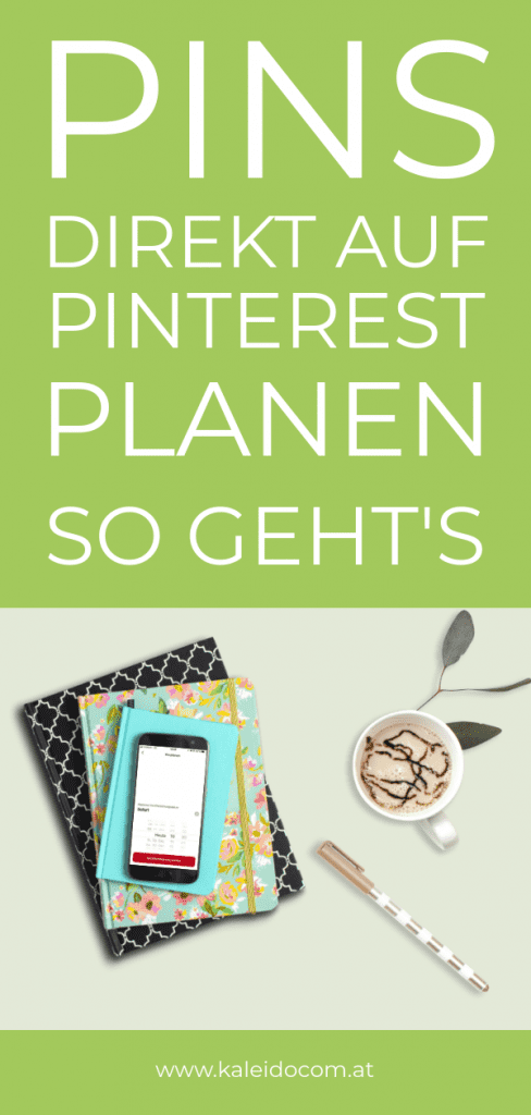 Pins in Pinterest planen & weitere Konten verbinden 5