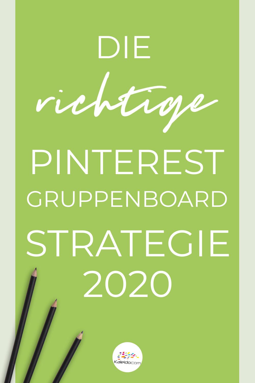 Pinterest Gruppenboards - die richtige Strategie 2020 2