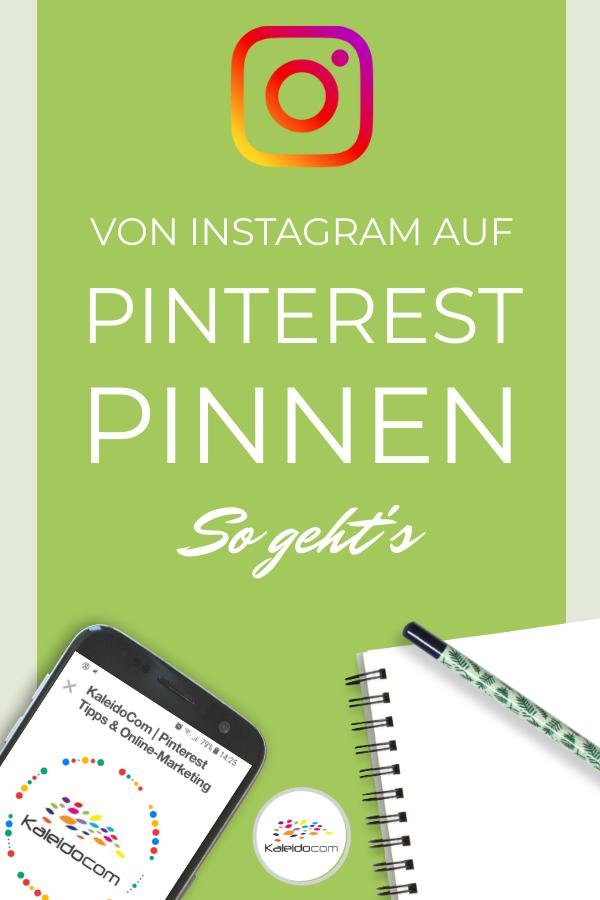 Instagram auf Pinterest