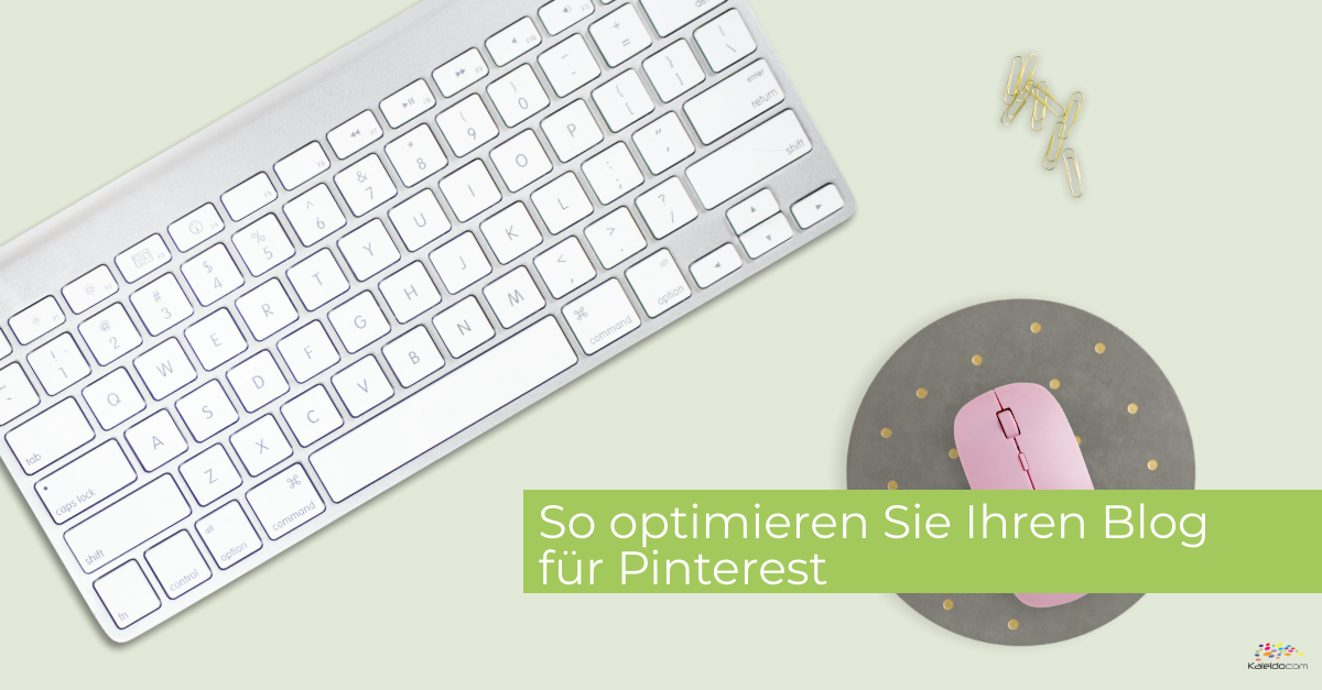 blog optimieren Pinterest
