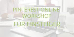 Pinterest Online Workshop