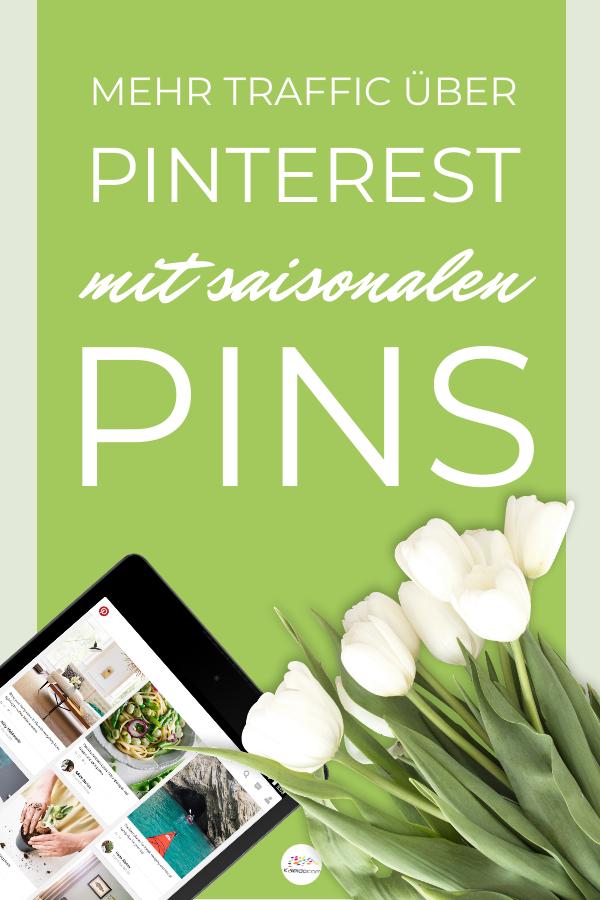 Pin grüner Hintergrund Tablet Tulpen