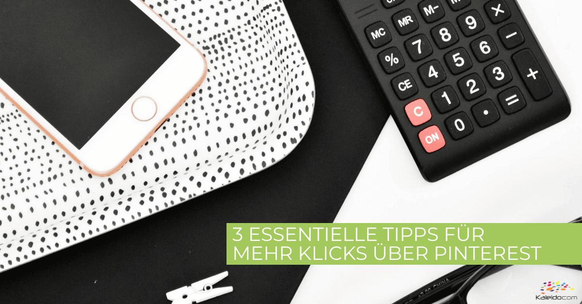 Pinterest – Tipps für mehr Klicks 1