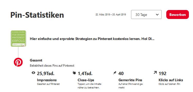 Pinterest – Tipps für mehr Klicks 2