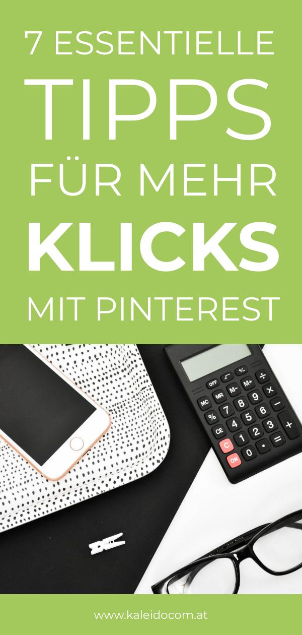 Pinterest – Tipps für mehr Klicks 3