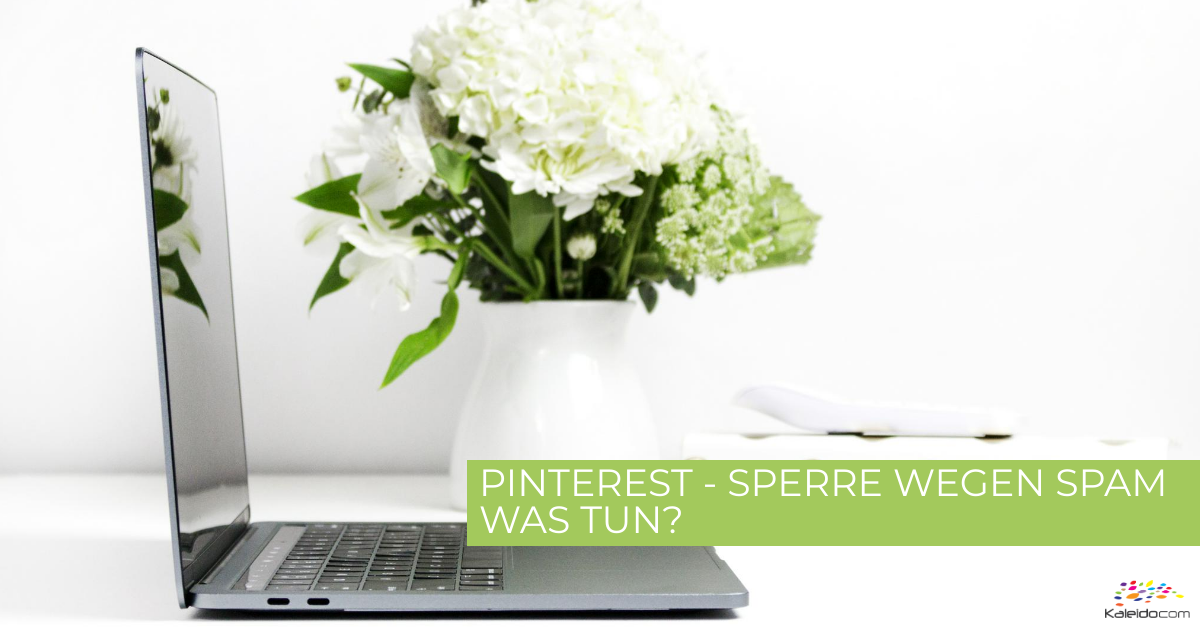 Pinterest - Sperre wegen Spam? 1